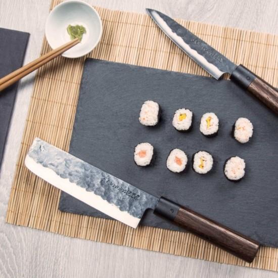 3 Claveles Usuba Osaka Knife - Granadillo Wood - Forged