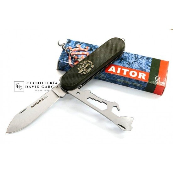 Multipurpose knife Aitor Gran Capitán 16003V