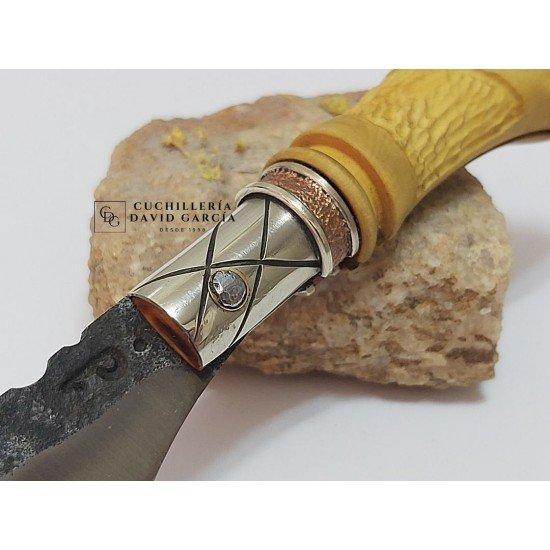 Joselu RDB Decorated Boxwood Knife