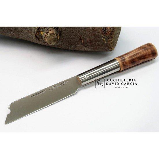 Taramundi Knive Punta Chata 8 cm Burnt Heather