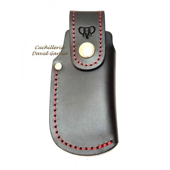 Cudeman 603N Black Leather Case