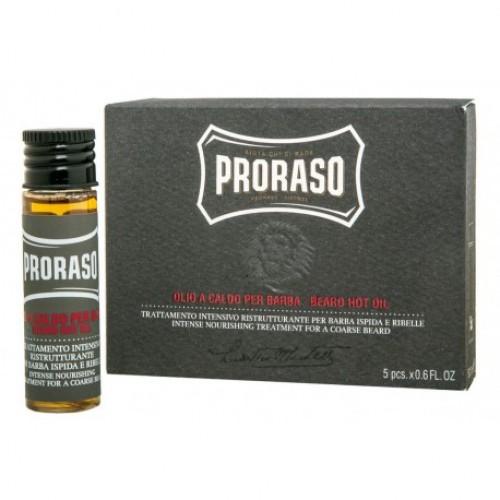 Aceite Caliente Para Barba Proraso (4 Frascos x 17 ml ) M00179