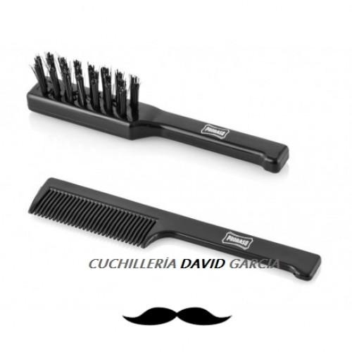 Peine Y Cepillo Barba Y Bigote Proraso M00258
