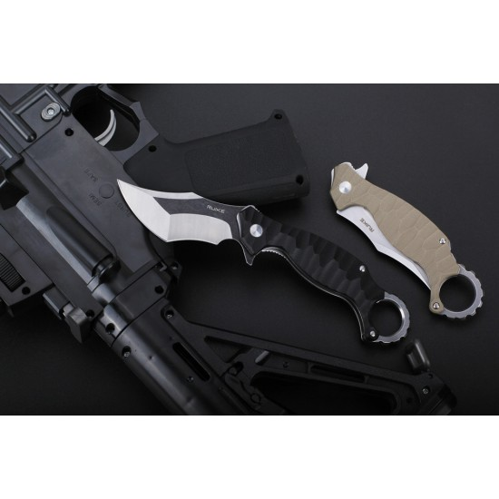 Ruike P881-B1 Tactica G10 Black Pocket Knife