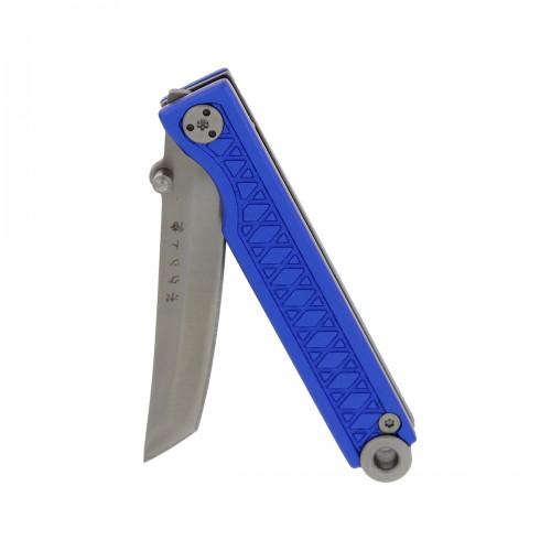 StatGear Pocket Samurai Navaja llavero Aluminio Azul